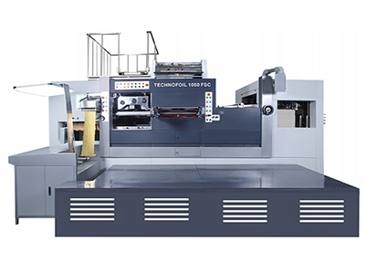 Die Cutting Foil Stamping Press 1050-FLC type Holographic Foil Stamping Machine