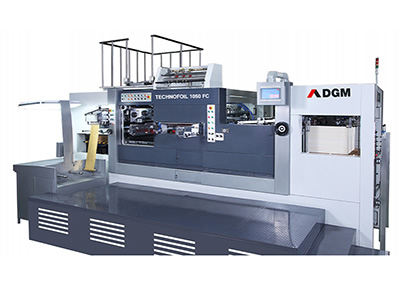 Die Cutting Foil Stamping Press 1050-FC type Hot Foil Stamping Cutting Line