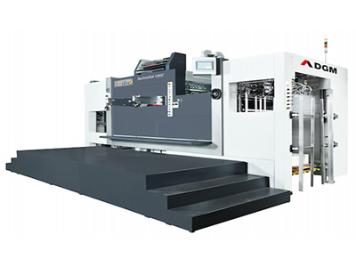 Die Cutting Foil Stamping Press 1050-C type Hot Foil Stamping Cutting Line